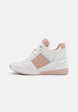 GEORGIE TRAINER - Sneakers basse - optic white/soft pink