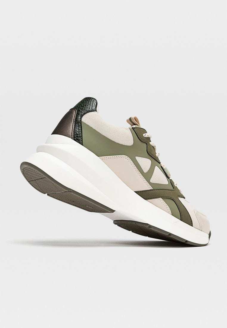 CHUNKY SPORTSCHUH MIT MAXI SOHLE UND VERSCHIEDENEN ELEMENTEN 190 Sneakers multi coloured