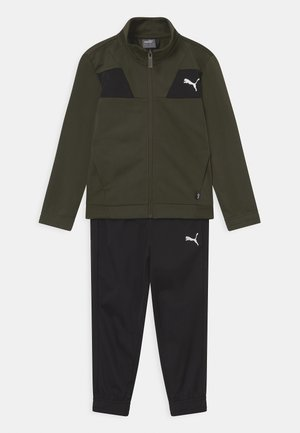 POLY SET UNISEX - Tracksuit - forest night