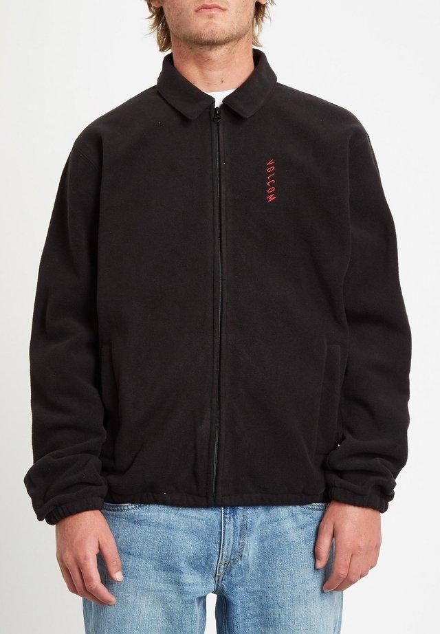 VIRT ZIP - NOIR - Sweater - black