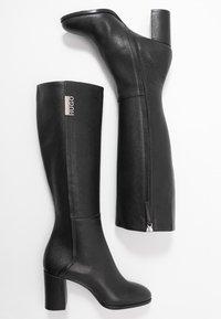 HUGO - VICTORIA BOOT - Boots - black - 3