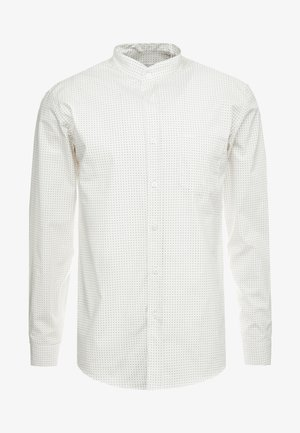 THE PRINTED WITH MAO COLLAR - Shirt - white