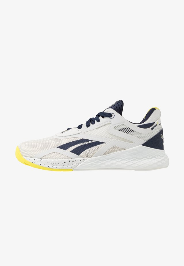 NANO X - Sports shoes - grey/vector navy/chartreuse