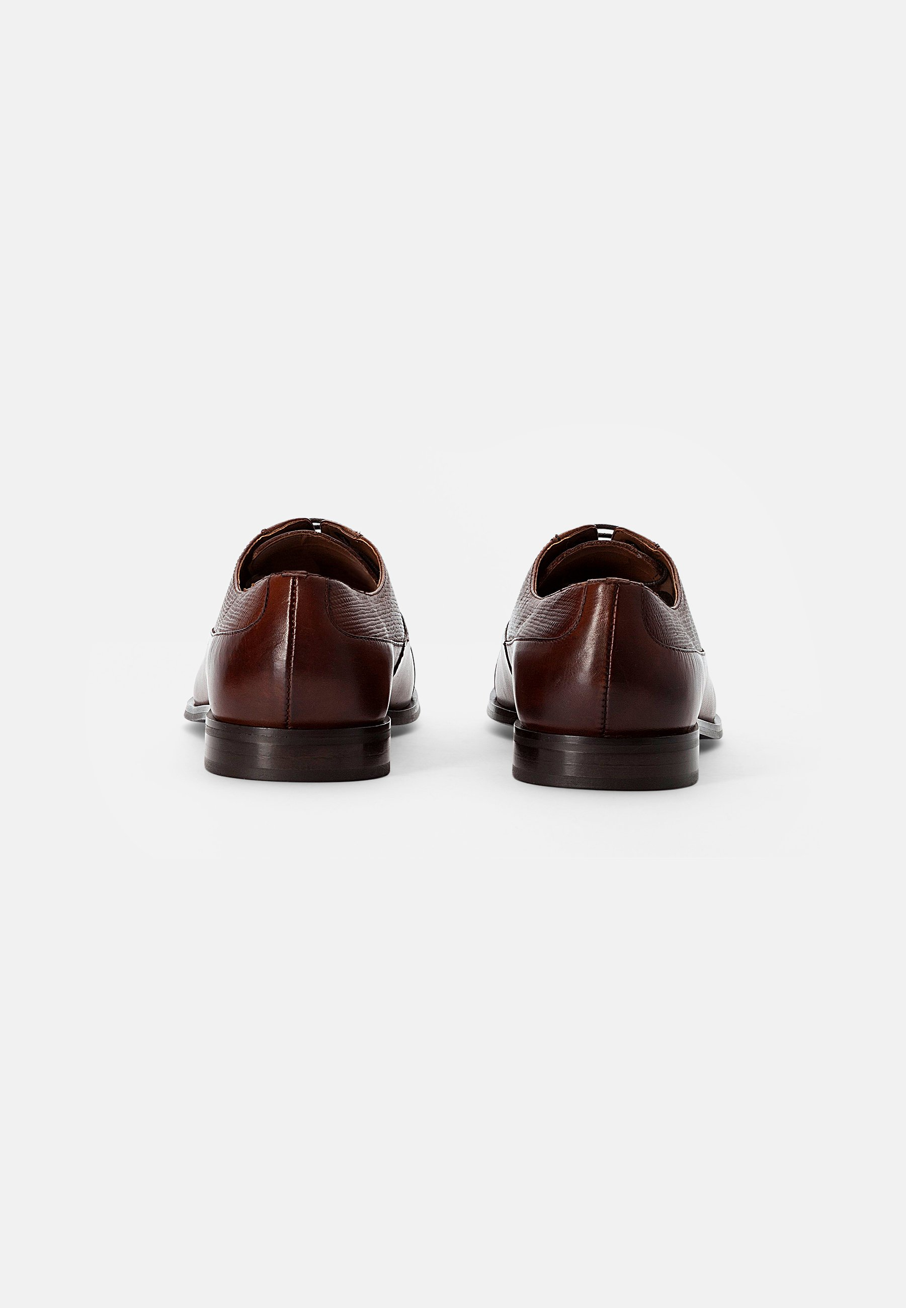 Homme FLORENCE OXFORD - Derbies - cow bovino brown