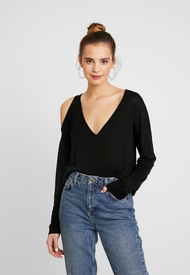 Pepe Jeans - CORA - Camiseta de manga larga - black