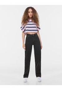 Bershka - Jeans a sigaretta - black - 1