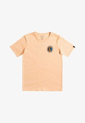 MELLOW PHONIC - T-shirt print - apricot
