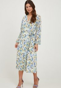 ICHI - IXADILENE - Korte jurk - cashmere blue multi color - 1
