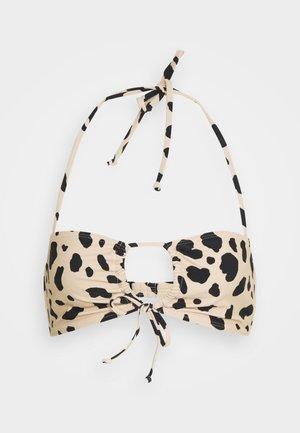 FRONT BOW  - Bikiniöverdel - beige