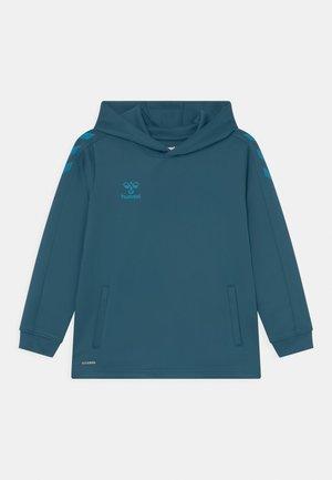 CORE POLY HOODIE UNISEX - Longsleeve - blue coral
