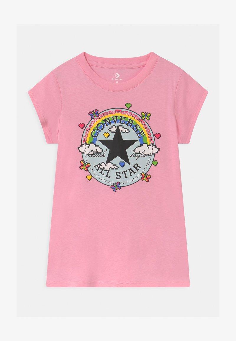 Converse - GAMER GIRL CHUCK PATCH - Camiseta estampada - just pink