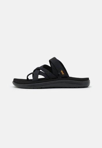 VOYA ZILLESA - T-bar sandals - mahani black