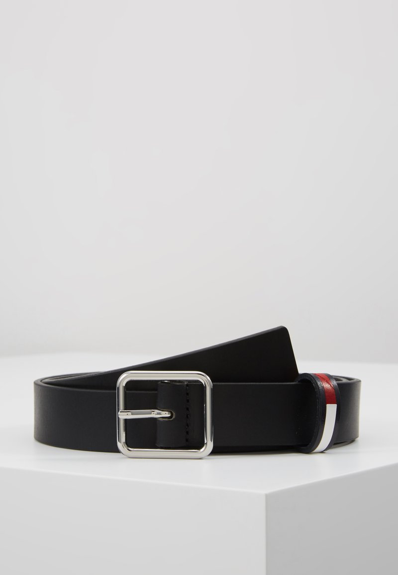 Tommy Jeans - FLAG INLAY - Belte - black