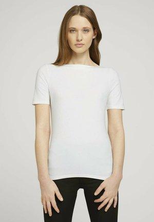 T-shirt - bas - gardenia white