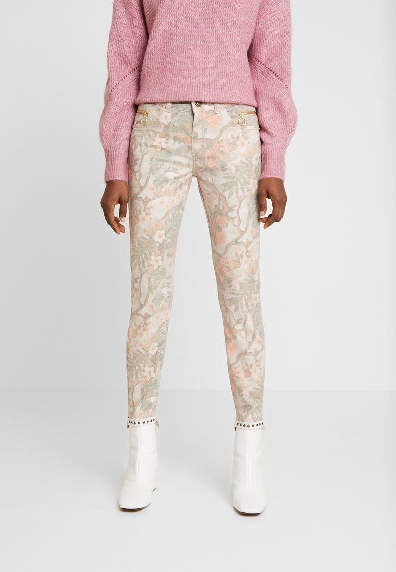 Mos Mosh - SUMNER RIO PANT - Slim fit jeans - rose flower