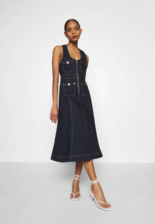 CLUB NOIR DRESS - Jeanskleid - indigo