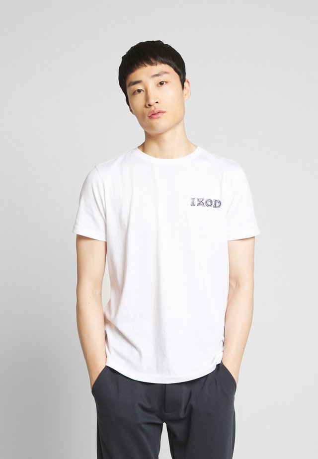 LOGO TEE - T-shirt print - bright white