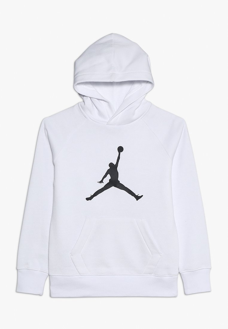 Jordan - JUMPMAN LOGO - Jersey con capucha - white