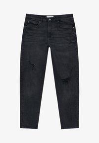 PULL&BEAR - Jeans slim fit - mottled black - 6