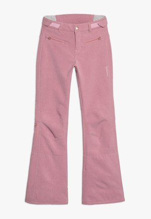 GIRLS PANT - Skibukser - old rose