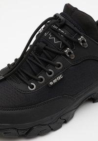 Hi-Tec - ADVENTURE MOC I+ - Hiking shoes - black - 5