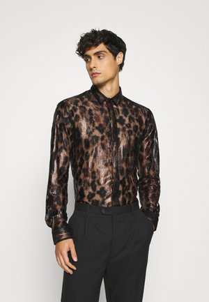 JUNO SHIRT - Skjorta - black/gold