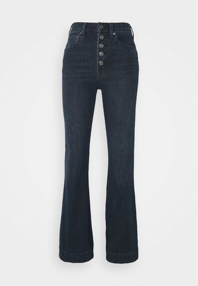 HARVARD - Flared Jeans - dark wash