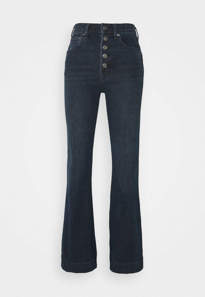 GAP - HARVARD - Flared Jeans - dark wash