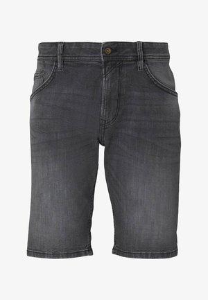 Shorts di jeans - metallic black
