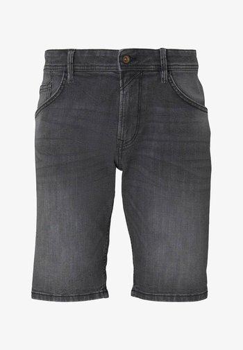 Jeansshorts - metallic black