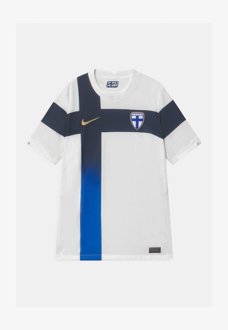 Nike Performance - FINLAND UNISEX - Oblečení národního týmu - white/truly gold
