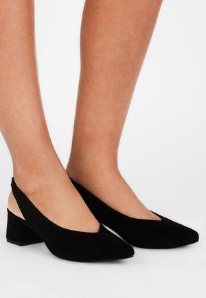 MIT BLOCKABSATZ - Classic heels - black