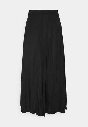 ANABEL - Jupe trapèze - black
