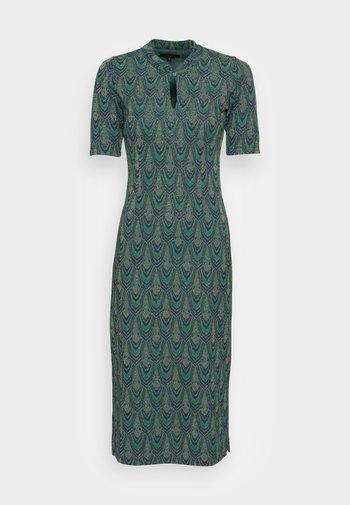 MIDI DRESS CLEOPATRA - Jersey dress - pine green