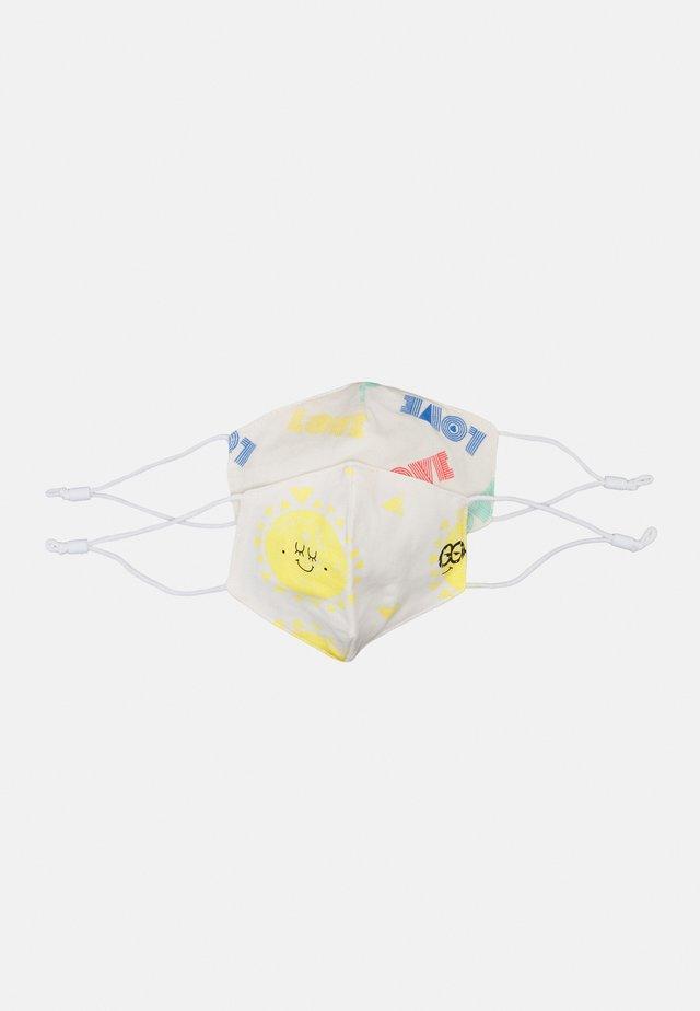LOVE + SUNSHINE FACEMASK 2 PACk - Látková maska - white