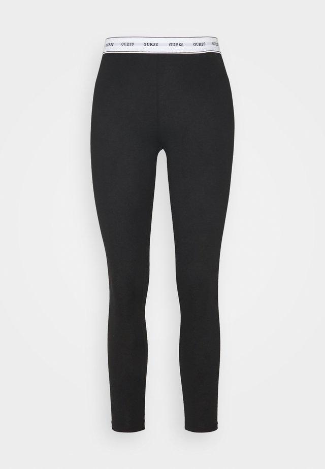 LEGGINGS - Pantaloni del pigiama - jet black