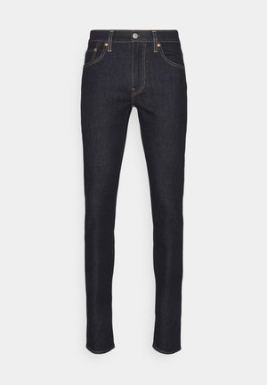 SKINNY TAPER - Jeans Skinny Fit - dark blue denim