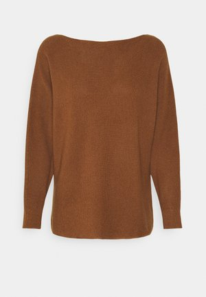 Strickpullover - toffee