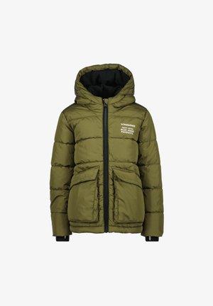 TORNAS - Winter jacket - ultra army