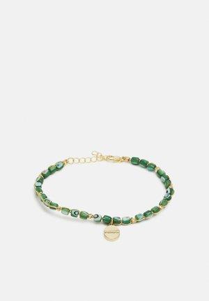 CHRISTIEN - Armband - gold-coloured/grün