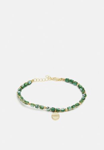 CHRISTIEN - Bracelet - gold-coloured/grün