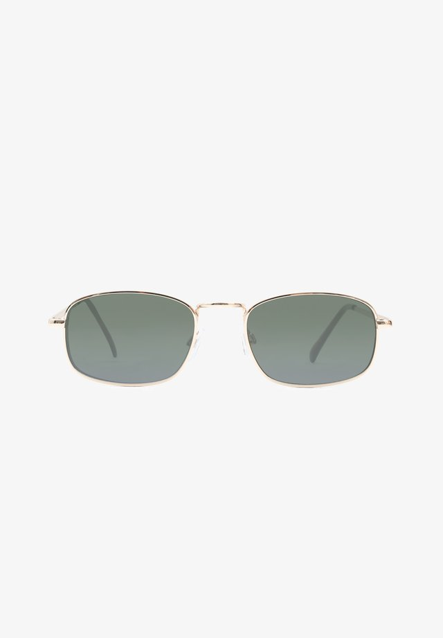 WM FOUR-SQUARE SUNGLASSES - Zonnebril - gold