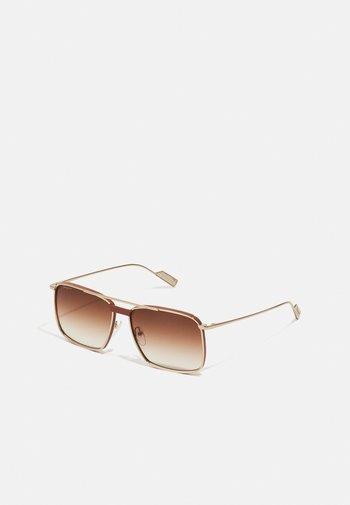 UNISEX - Sunglasses - gold/camel