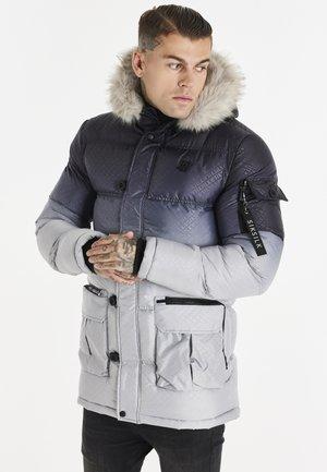 PUFF - Winter coat - black/grey
