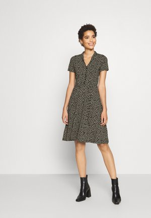 EMMY DRESS SEVRES - Skjortekjole - black