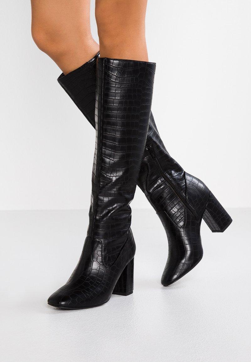 New Look - CARE - Stivali alti - black