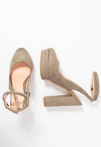 Even&Odd - High heels - oliv - 3