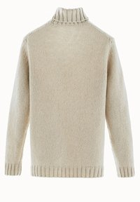 Massimo Dutti - MIT ZOPFMUSTER LIMITED EDITION  - Sweter - beige - 2