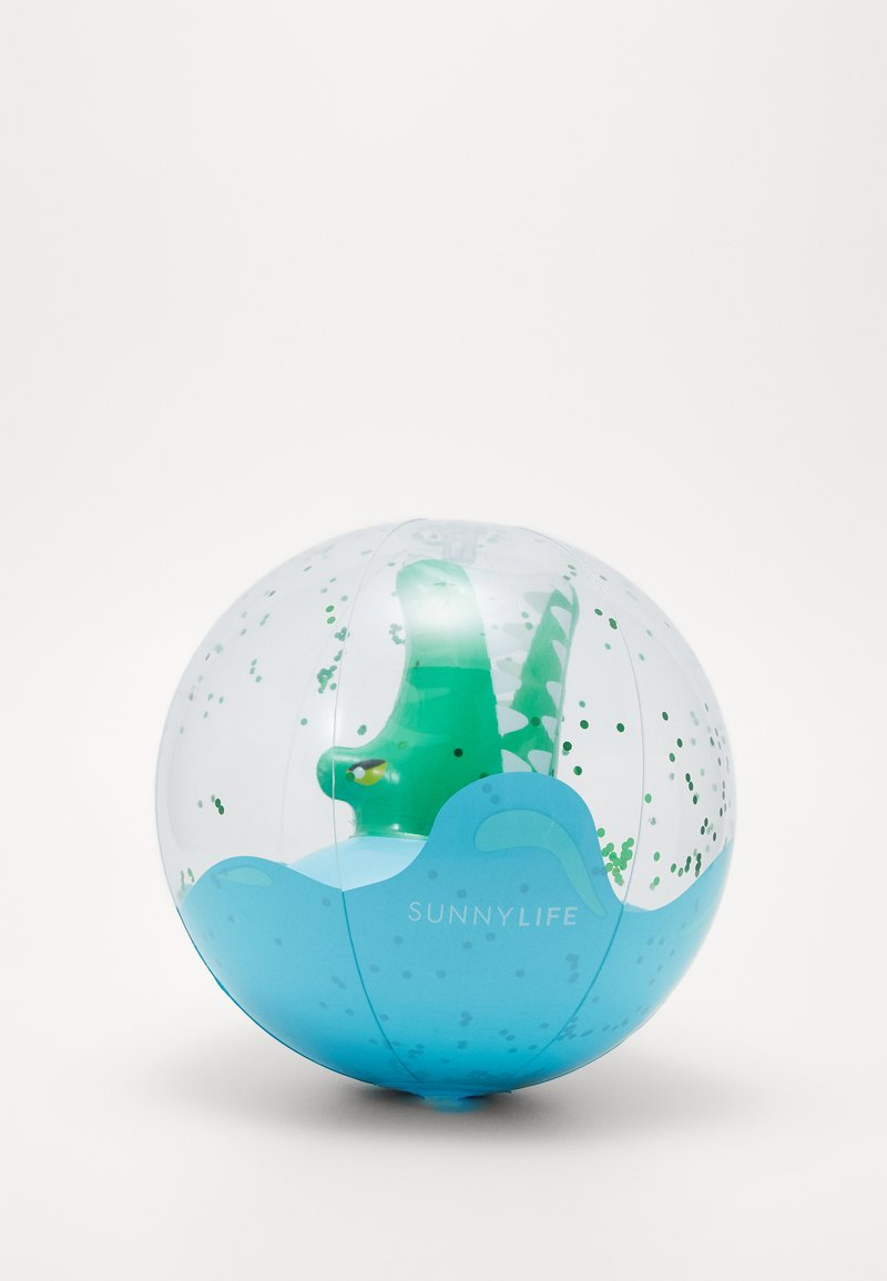Sunnylife - 3D INFLATABLE BEACH BALL - Hračka - green
