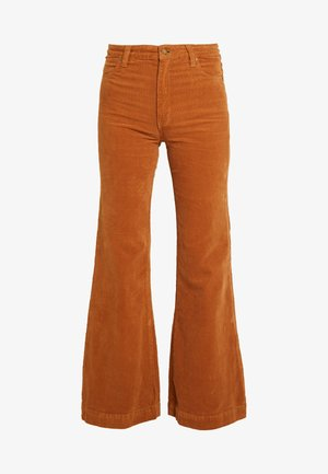EASTCOAST FLARE - Trousers - tan